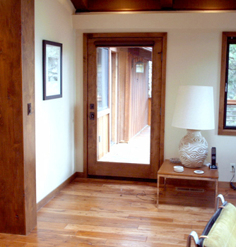 All Doors Are Mcfarland 2 Panel Select Alder Top Rail Arch With A Full Light Exterior Casing And Baseboard Is A
